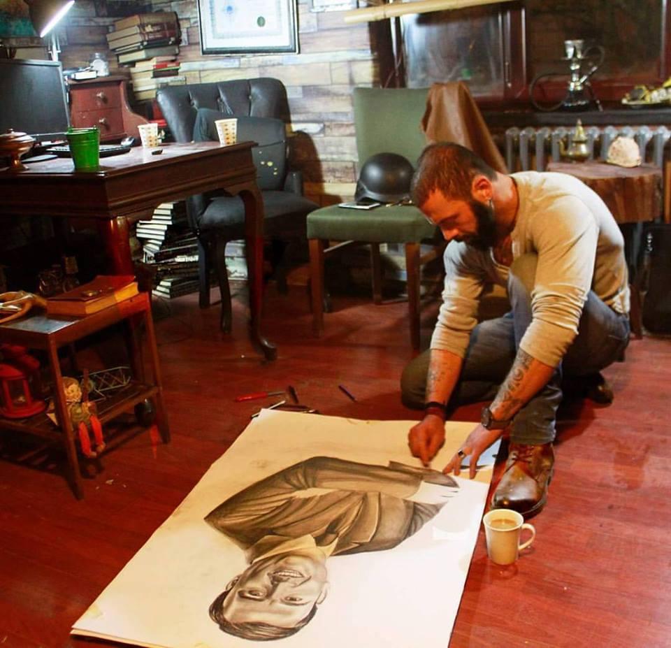 karakalem portre istanbul ankara çizim sevgili hediye fiyat listesi 159