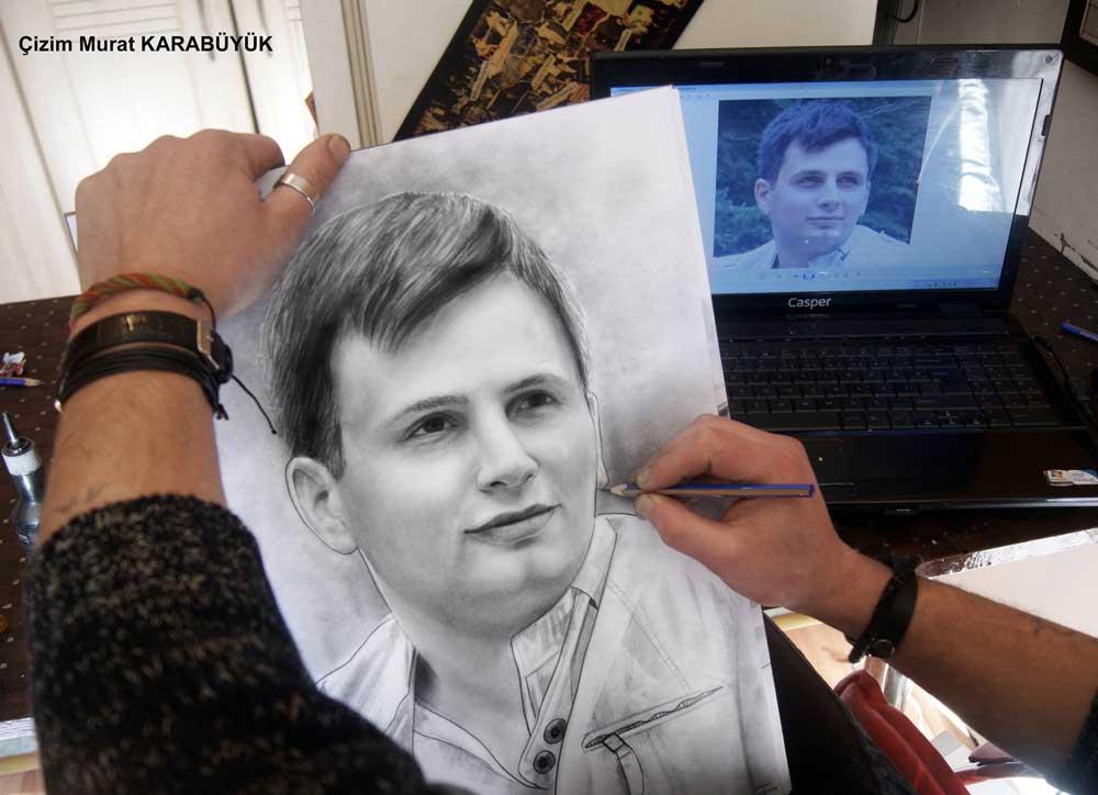 karakalem portre istanbul ankara çizim sevgili hediye fiyat listesi 86