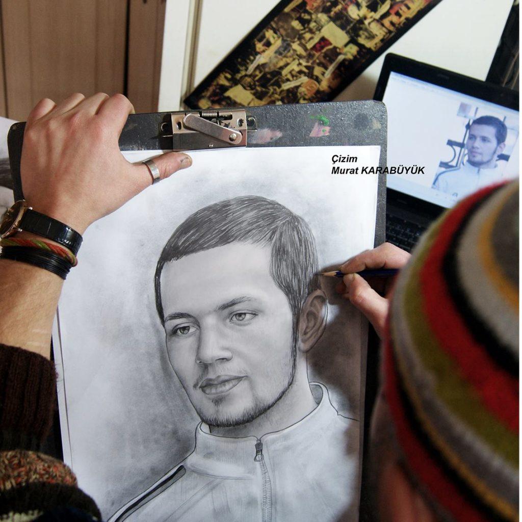 karakalem portre istanbul ankara çizim sevgili hediye fiyat listesi 26