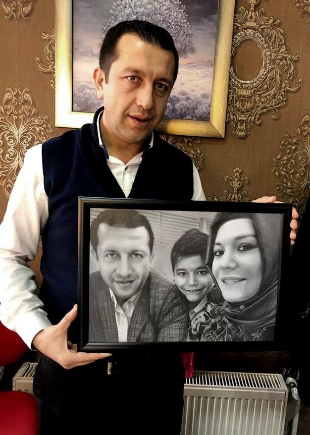 karakalem portre istanbul ankara çizim sevgili hediye fiyat listesi 122