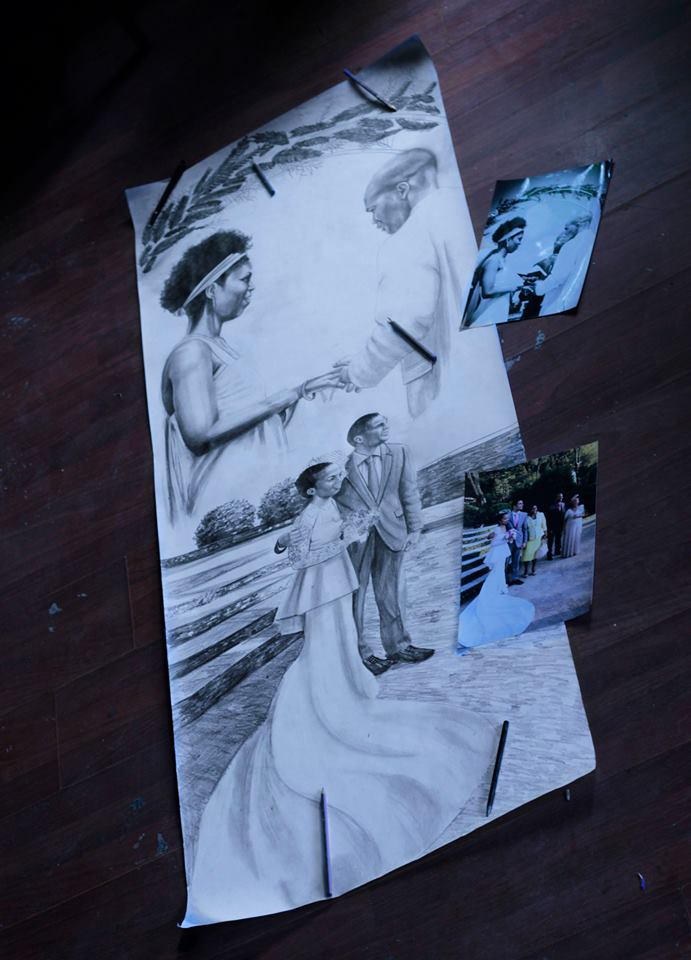 karakalem portre istanbul ankara çizim sevgili hediye fiyat listesi 117