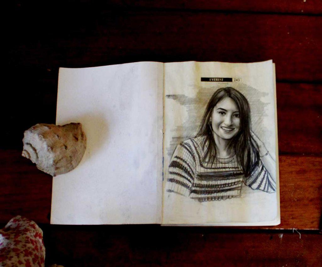 karakalem portre istanbul ankara çizim sevgili hediye fiyat listesi 85