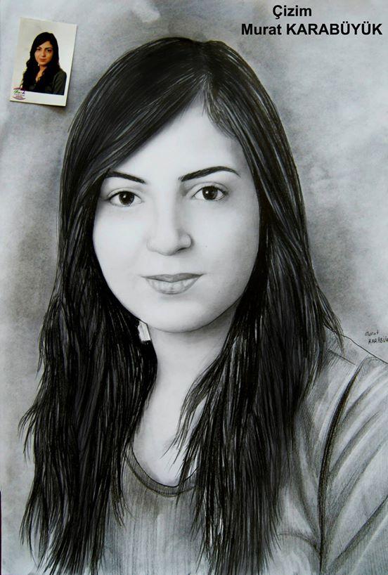 karakalem portre istanbul ankara çizim sevgili hediye fiyat listesi 121