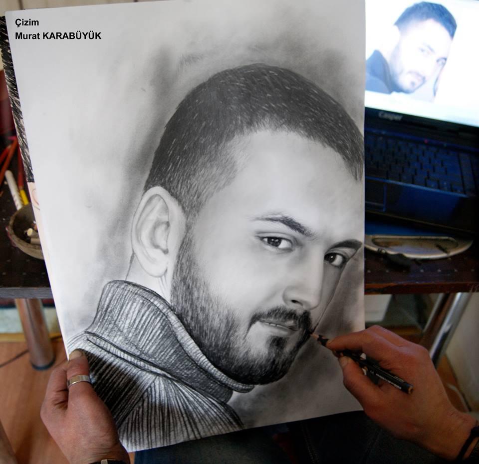 karakalem portre istanbul ankara çizim sevgili hediye fiyat listesi 134