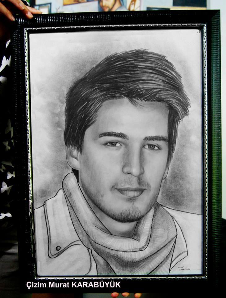karakalem portre istanbul ankara çizim sevgili hediye fiyat listesi 146