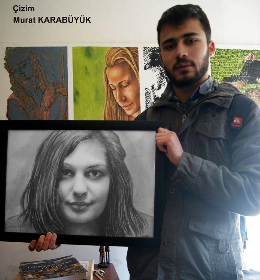 karakalem portre istanbul ankara çizim sevgili hediye fiyat listesi 141