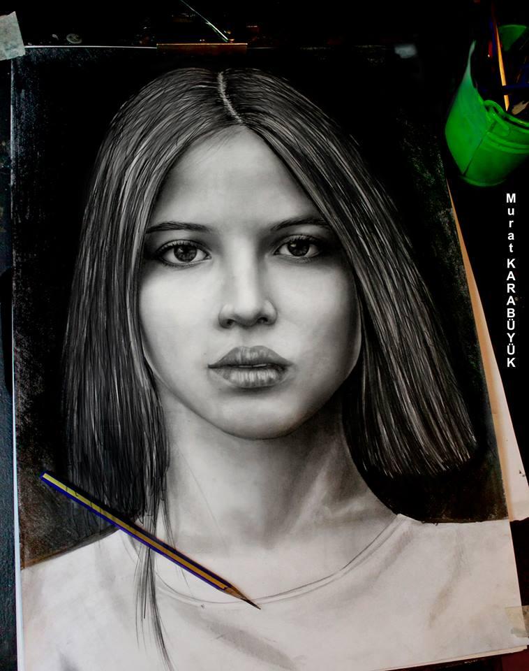 karakalem portre istanbul ankara çizim sevgili hediye fiyat listesi 142