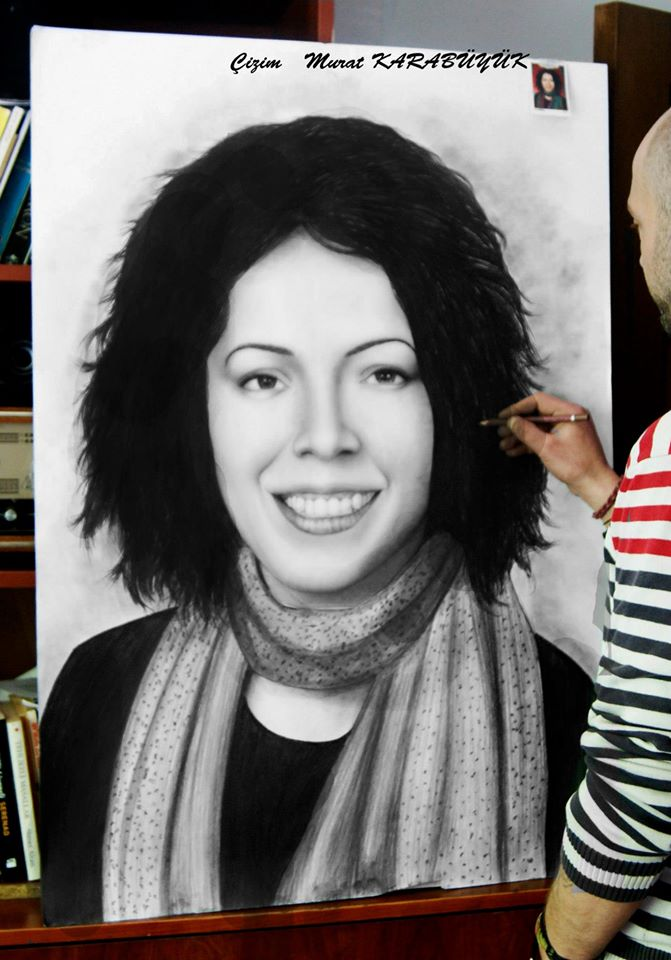 karakalem portre istanbul ankara çizim sevgili hediye fiyat listesi 128