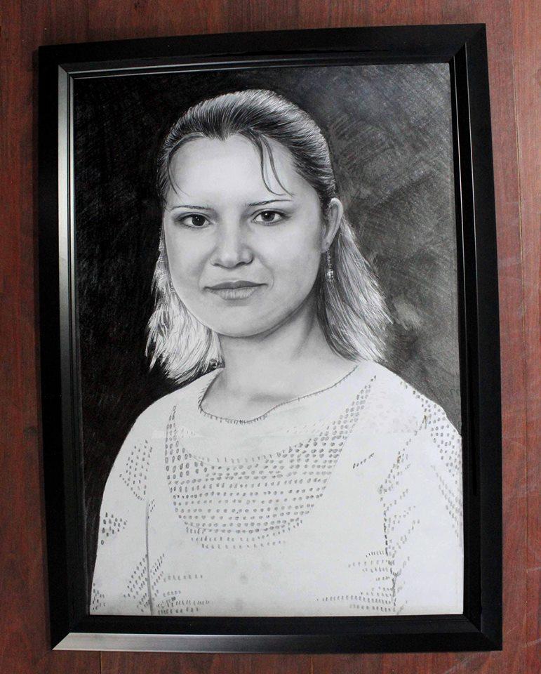 karakalem portre istanbul ankara çizim sevgili hediye fiyat listesi 17