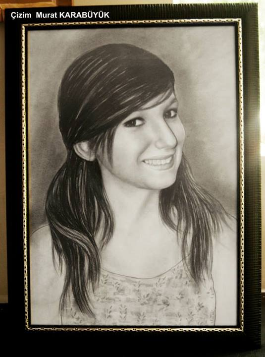 karakalem portre istanbul ankara çizim sevgili hediye fiyat listesi 68