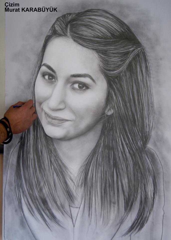 karakalem portre istanbul ankara çizim sevgili hediye fiyat listesi 112
