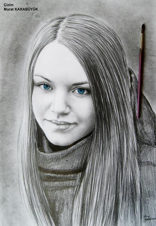 karakalem portre istanbul ankara çizim sevgili hediye fiyat listesi 99