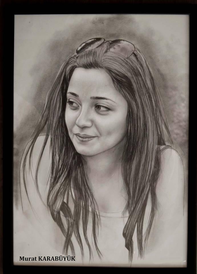 karakalem portre istanbul ankara çizim sevgili hediye fiyat listesi 92