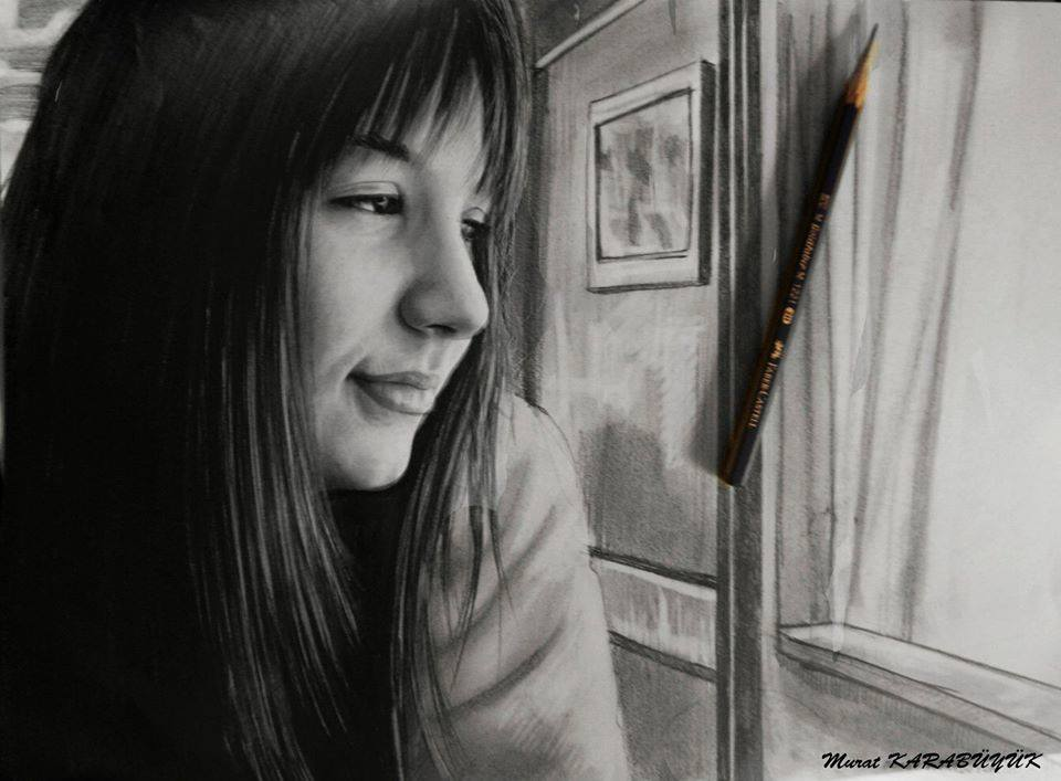 karakalem portre istanbul ankara çizim sevgili hediye fiyat listesi 111