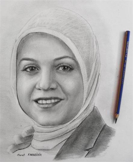 karakalem portre istanbul ankara çizim sevgili hediye fiyat listesi 45