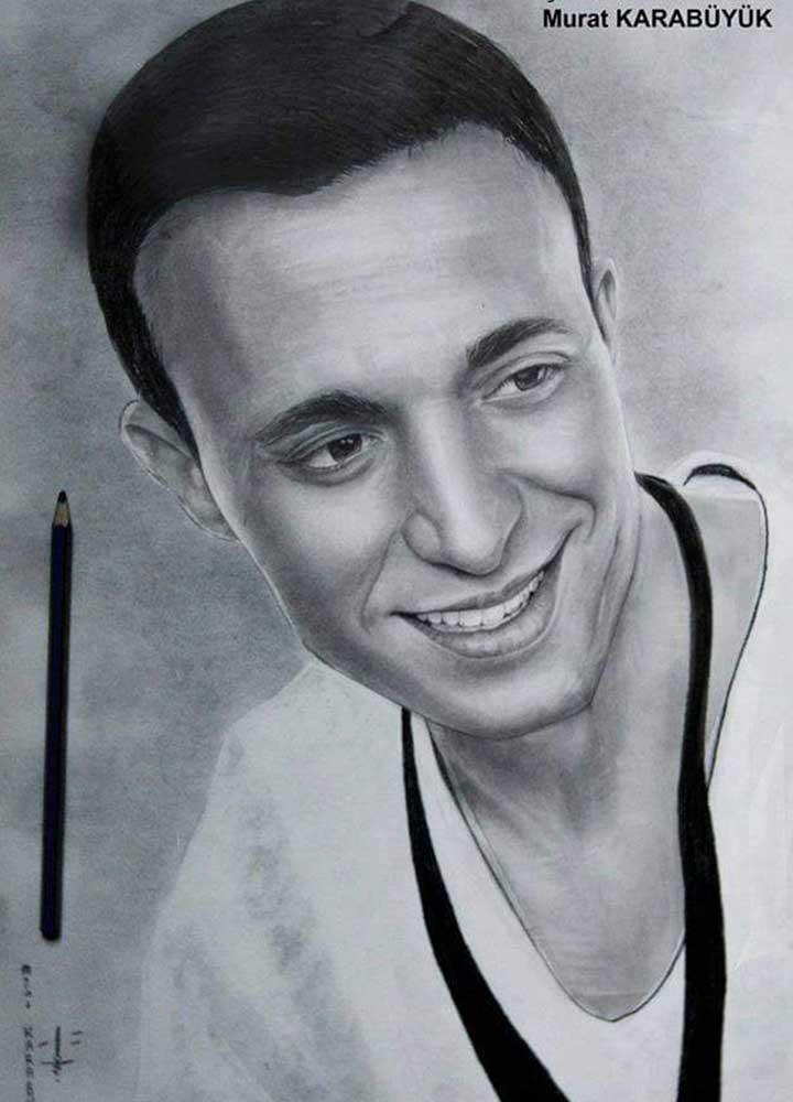 karakalem portre istanbul ankara çizim sevgili hediye fiyat listesi 72
