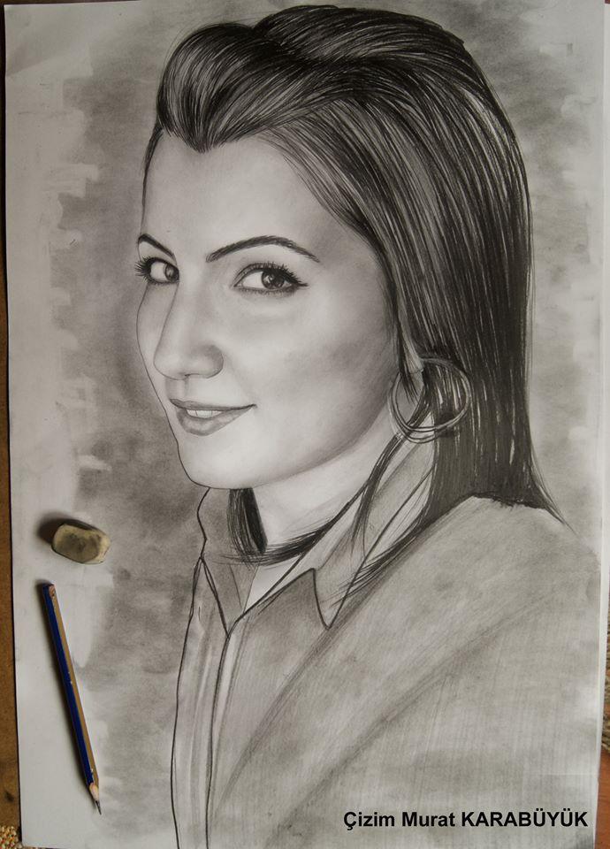 karakalem portre istanbul ankara çizim sevgili hediye fiyat listesi 153