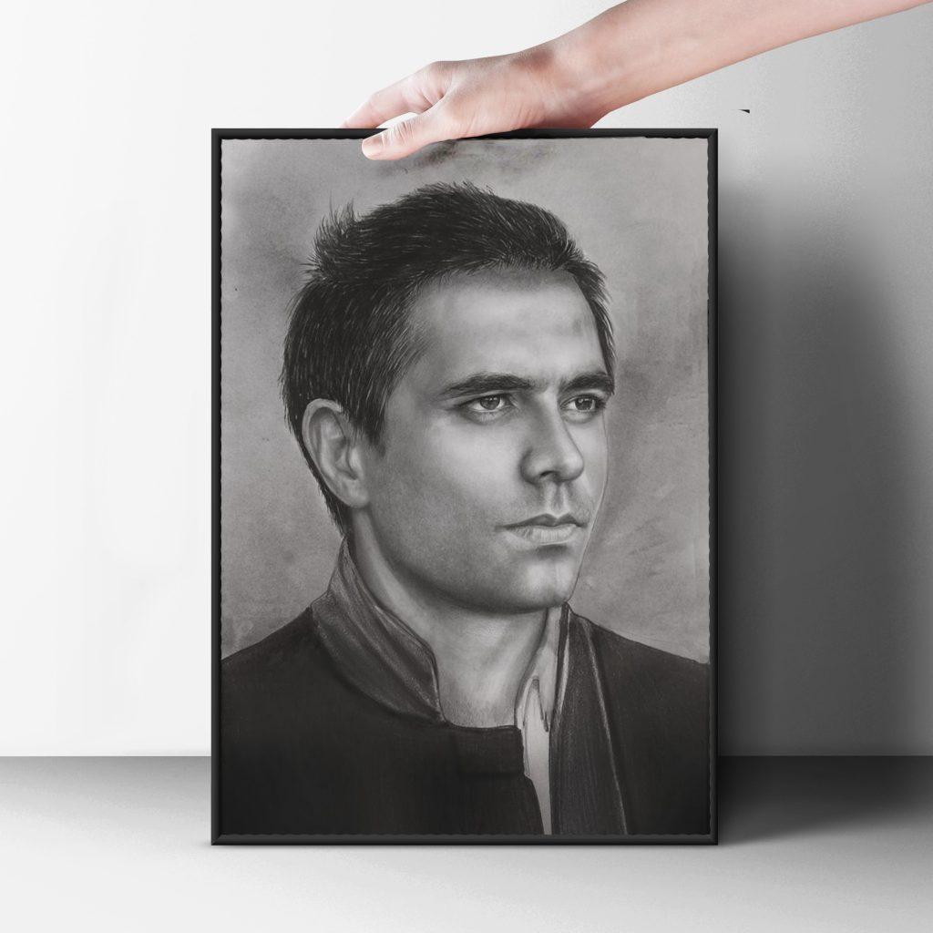 karakalem portre istanbul ankara çizim sevgili hediye fiyat listesi 9