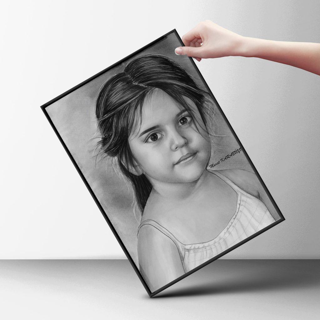 karakalem portre istanbul ankara çizim sevgili hediye fiyat listesi 8