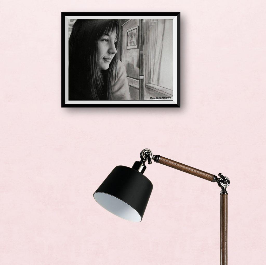 karakalem portre istanbul ankara çizim sevgili hediye fiyat listesi 4