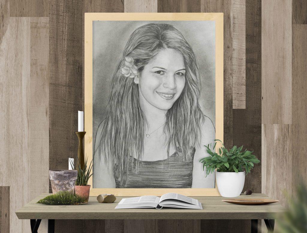 karakalem portre istanbul ankara çizim sevgili hediye fiyat listesi 2