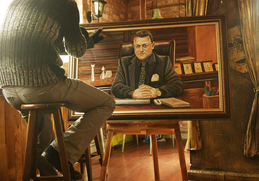 yağlıboya portre karakalem ankara sipariş kızılay sanat resim 9