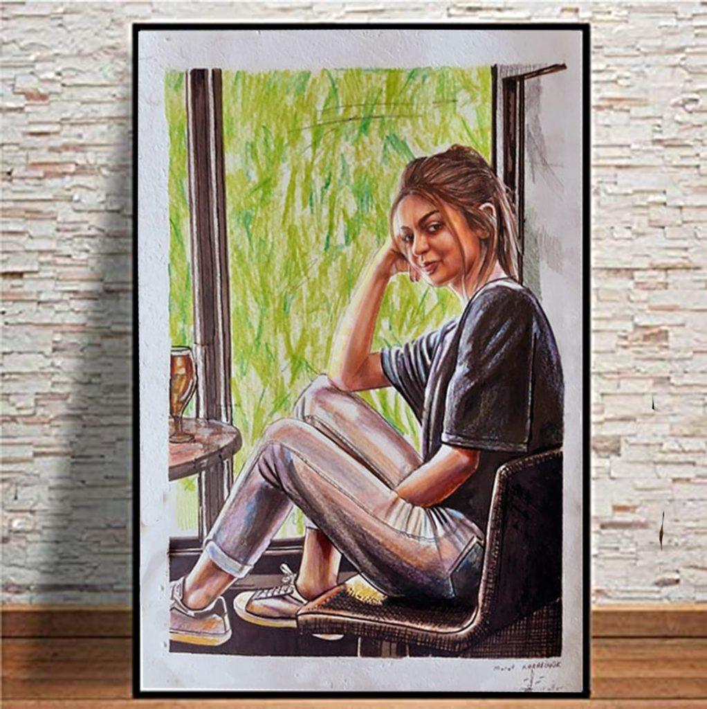 pastel yağlıboya karakalem karikatür portre sipariş fiyat listesi karikatür ankara 61