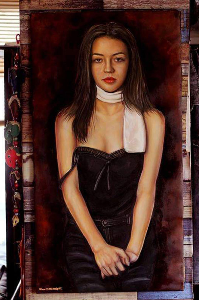 yağlıboya portre ankara sipariş kızılay sanat resim