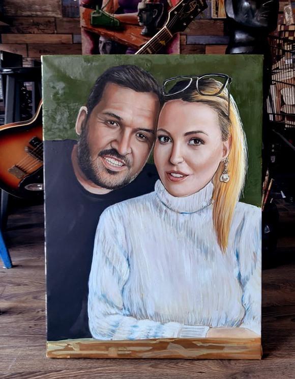 yağlıboya portre çalışması ankara fiyat karakalem sanat 21