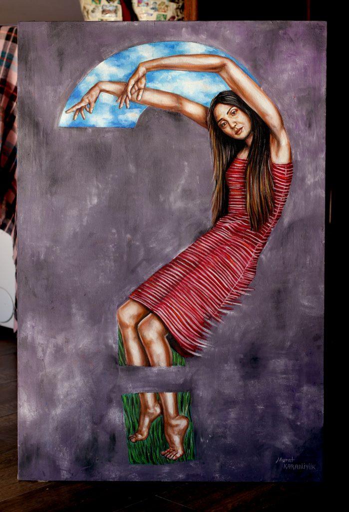 yağlıboya portre çalışması ankara fiyat karakalem sanat 17