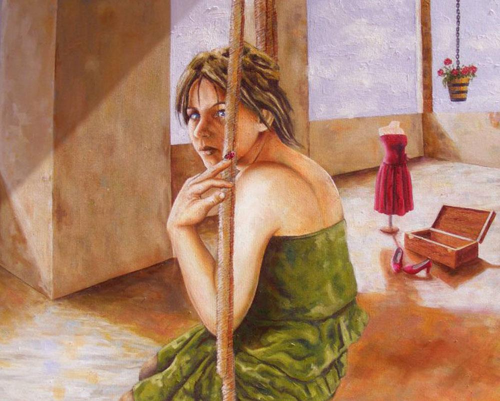 yağlıboya portre karakalem ankara sipariş kızılay sanat resim 26