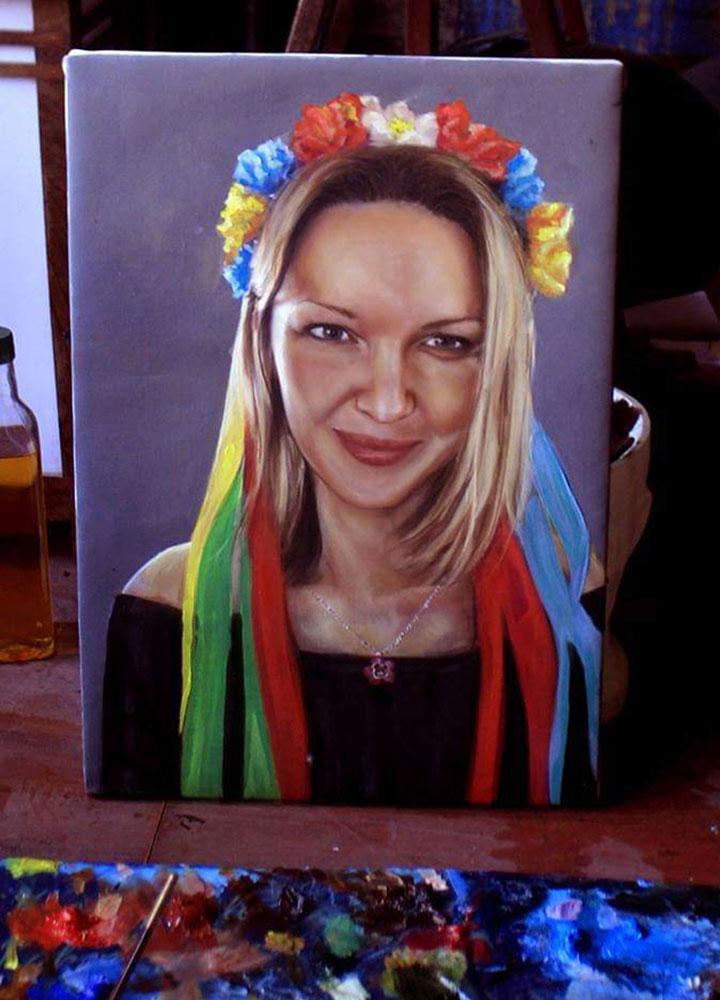 yağlıboya portre karakalem ankara sipariş kızılay sanat resim 22