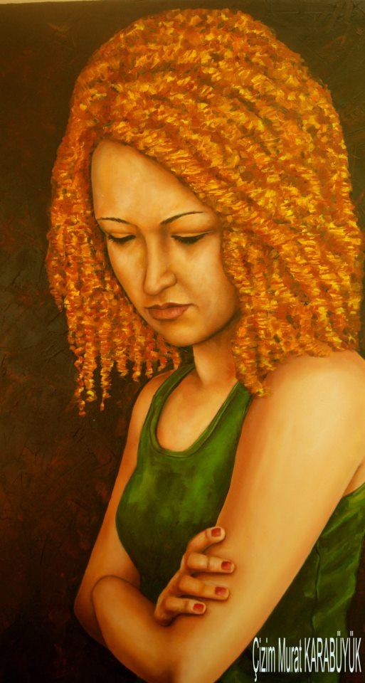 yağlıboya portre karakalem ankara sipariş kızılay sanat resim 17