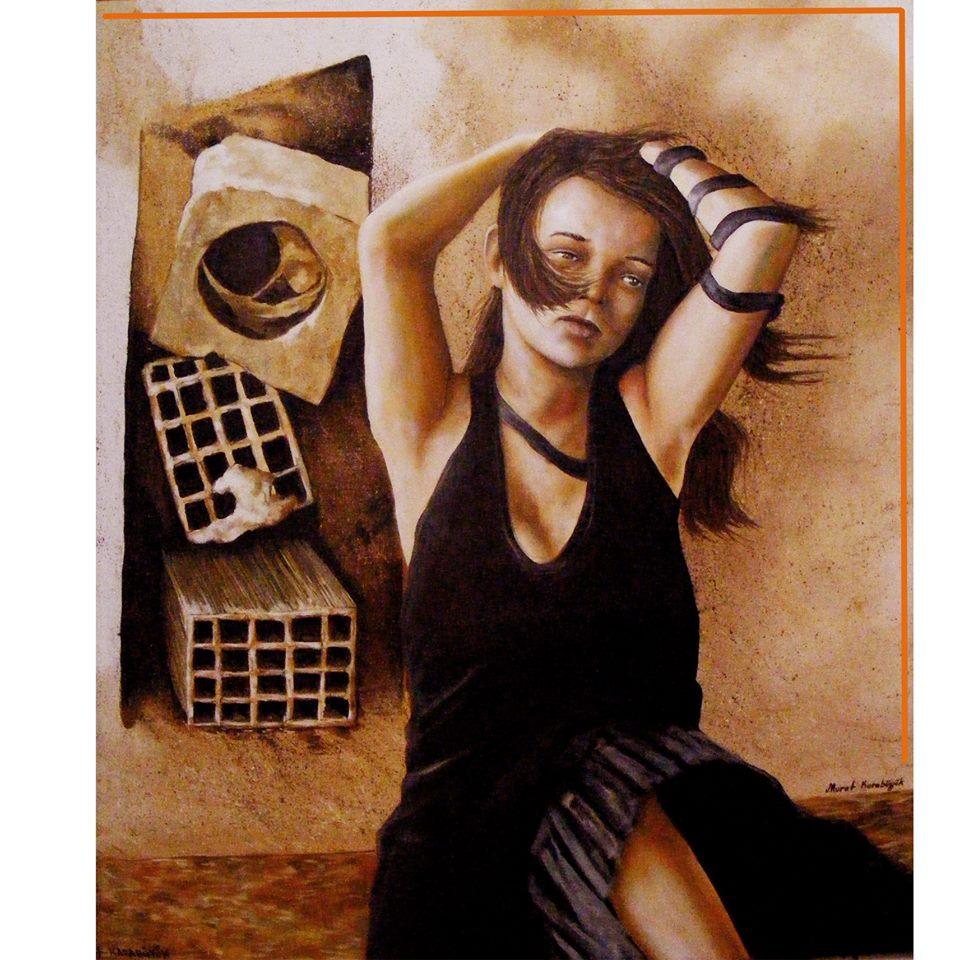 yağlıboya portre karakalem ankara sipariş kızılay sanat resim 13