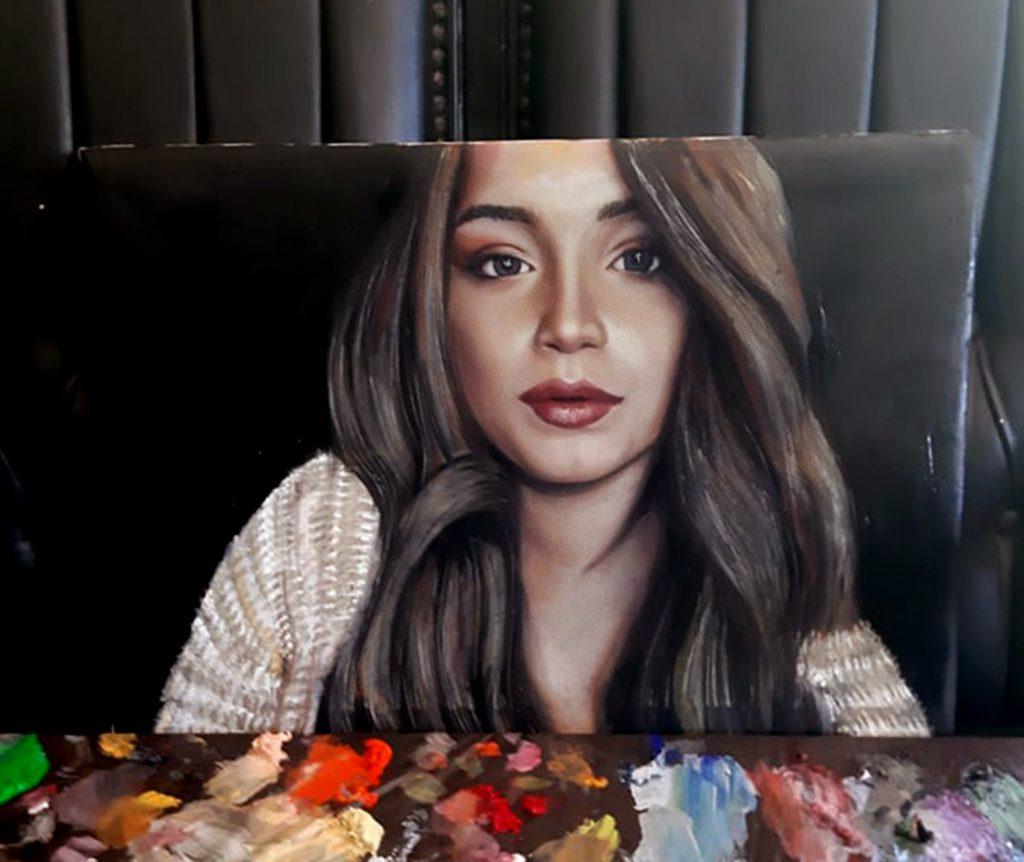 yağlıboya portre çalışması ankara fiyat karakalem sanat 16