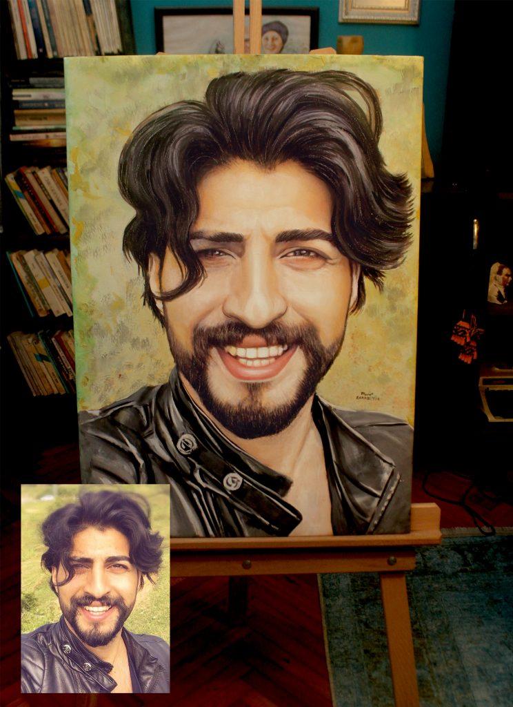 Yağlıboya Portre Çalışmaları - Sanatsal Hediyeler ankara 75