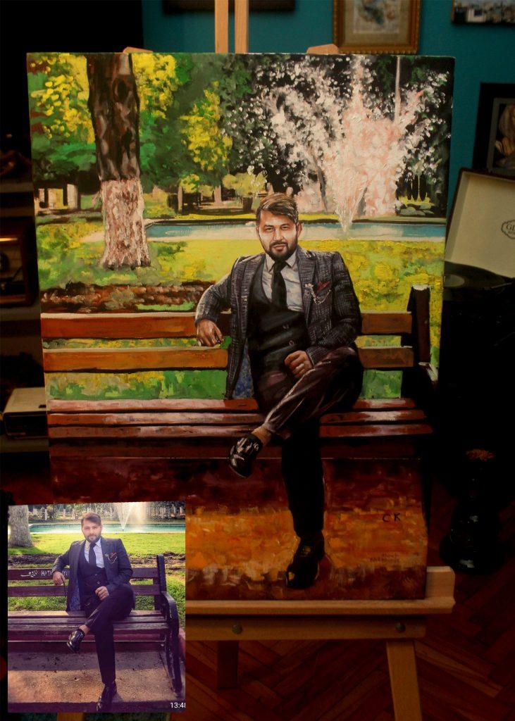 Yağlıboya Portre Çalışmaları - Sanatsal Hediyeler ankara 82