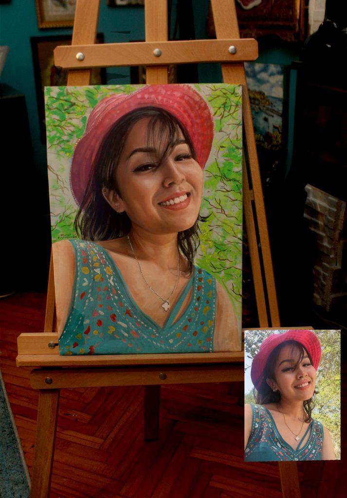Yağlıboya Portre Çalışmaları - Sanatsal Hediyeler ankara 84