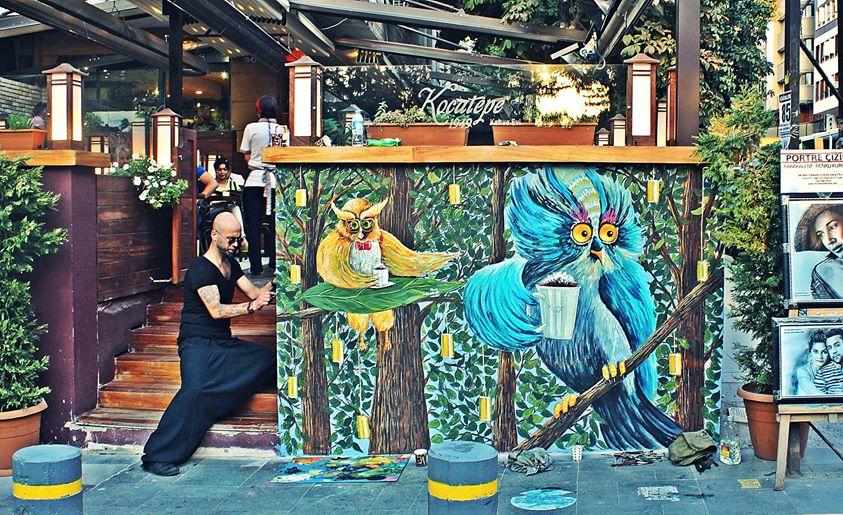 duvar resmi graffiti ankara sanat karakalem portre 57