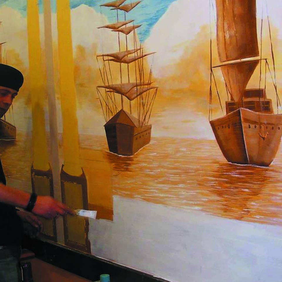 duvar resmi graffiti ankara sanat karakalem portre 27