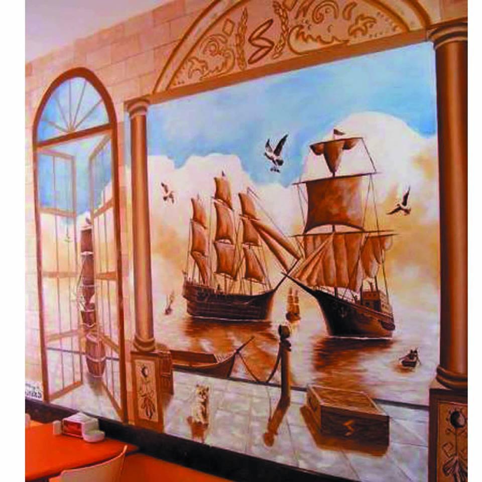 duvar resmi graffiti ankara sanat karakalem portre 44