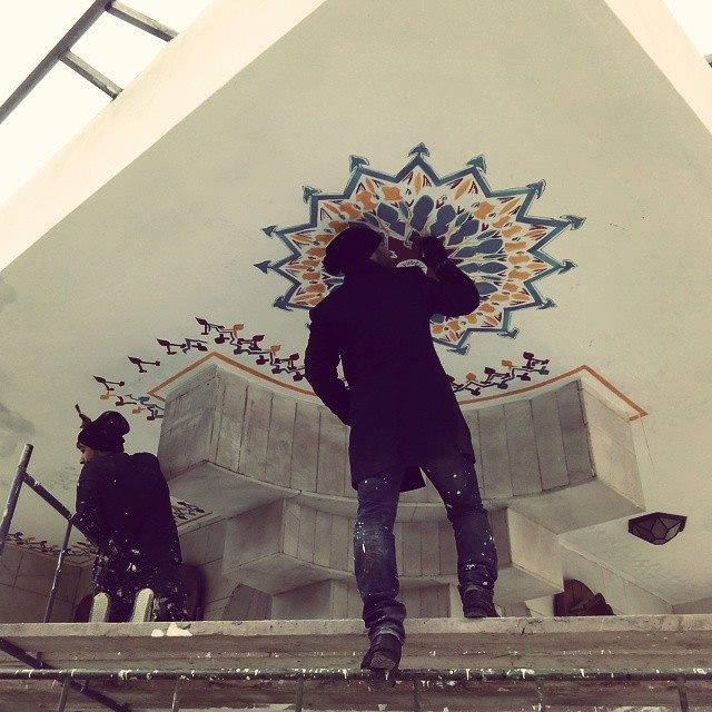 duvar resmi graffiti ankara sanat karakalem portre 19