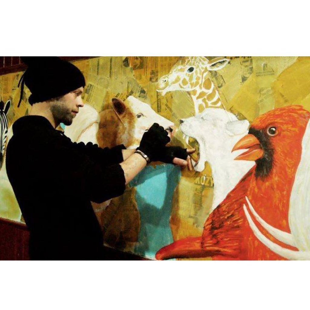 duvar resmi graffiti ankara sanat karakalem portre 38