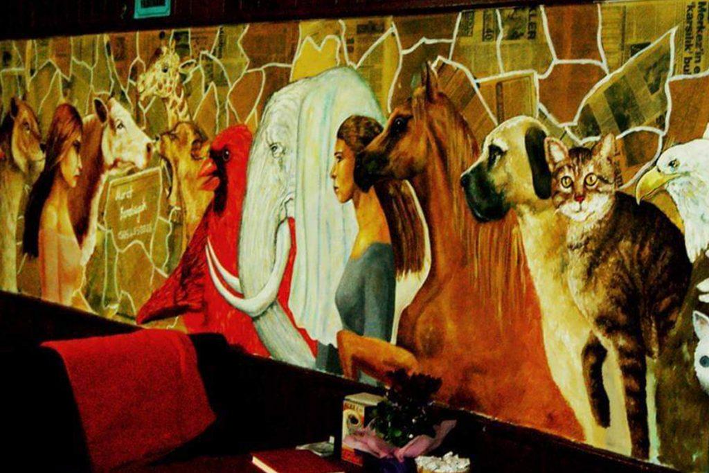 duvar resmi graffiti ankara sanat karakalem portre