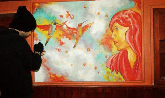 duvar resmi graffiti ankara sanat karakalem portre 37