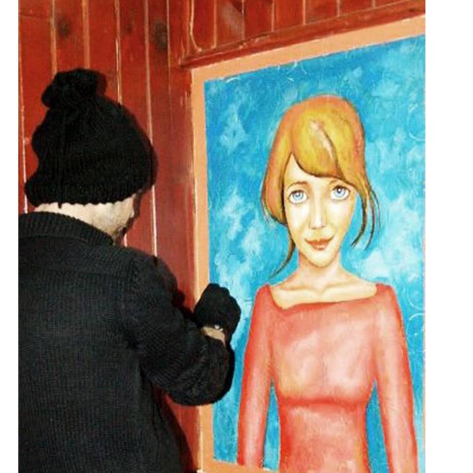 duvar resmi graffiti ankara sanat karakalem portre 32
