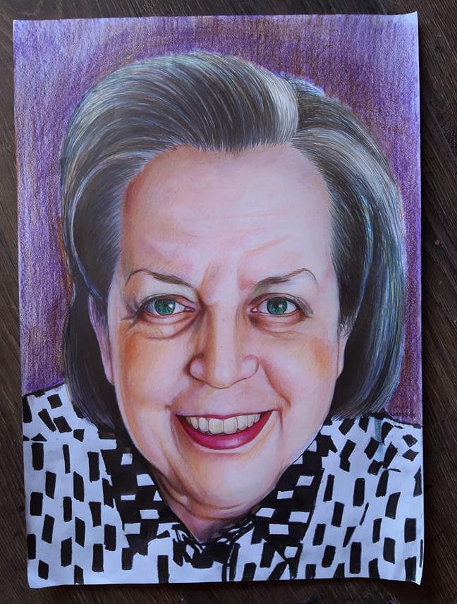 pastel portre karakalem ankara yapan yerler karikatür 23