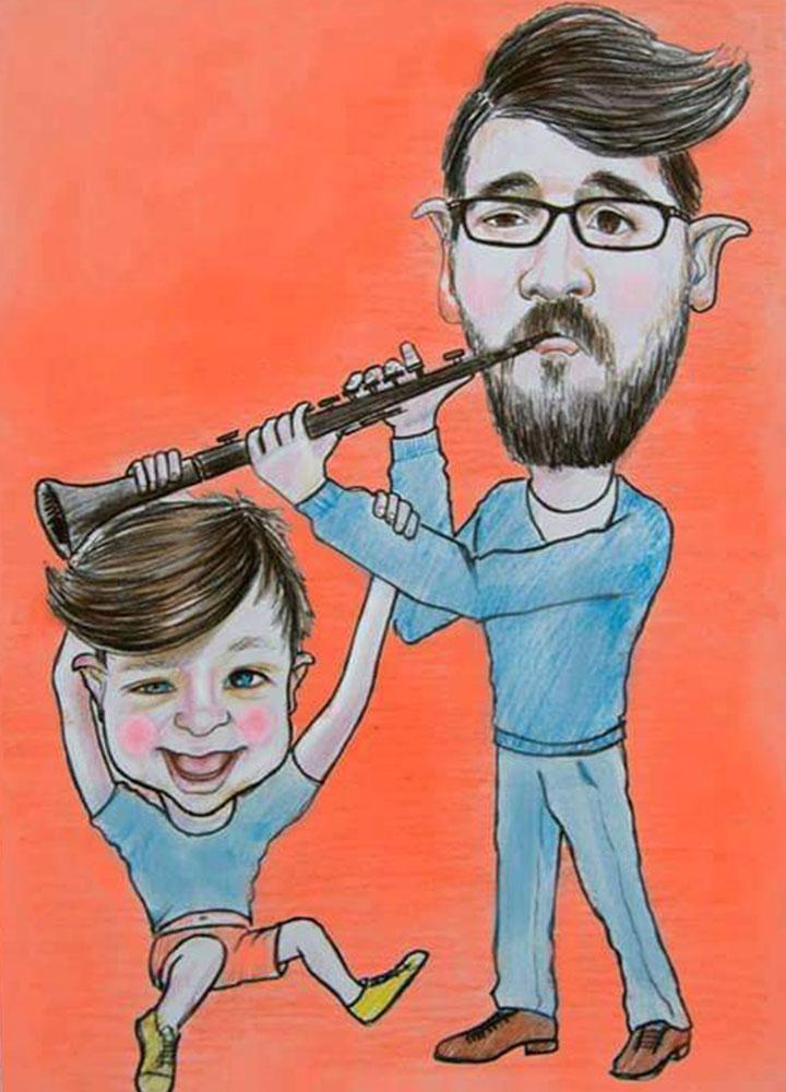 karikatür pastel yağlıboya portre sipariş fiyatlistesi istanbul ankara 16