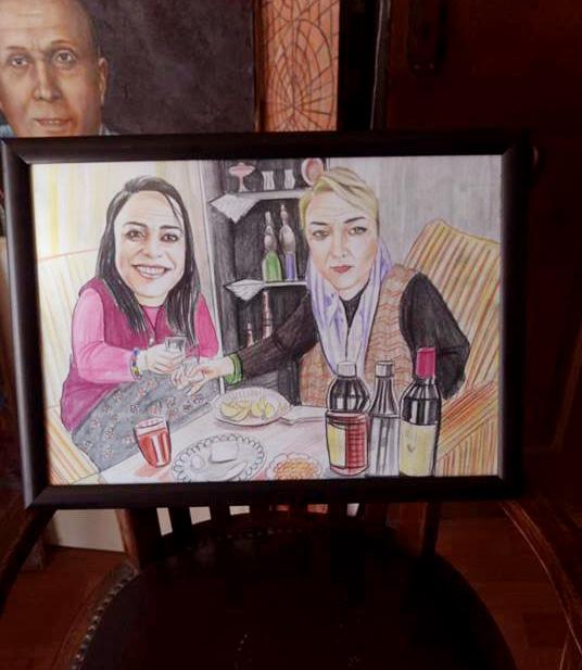 karikatür pastel yağlıboya portre sipariş fiyatlistesi istanbul ankara 15
