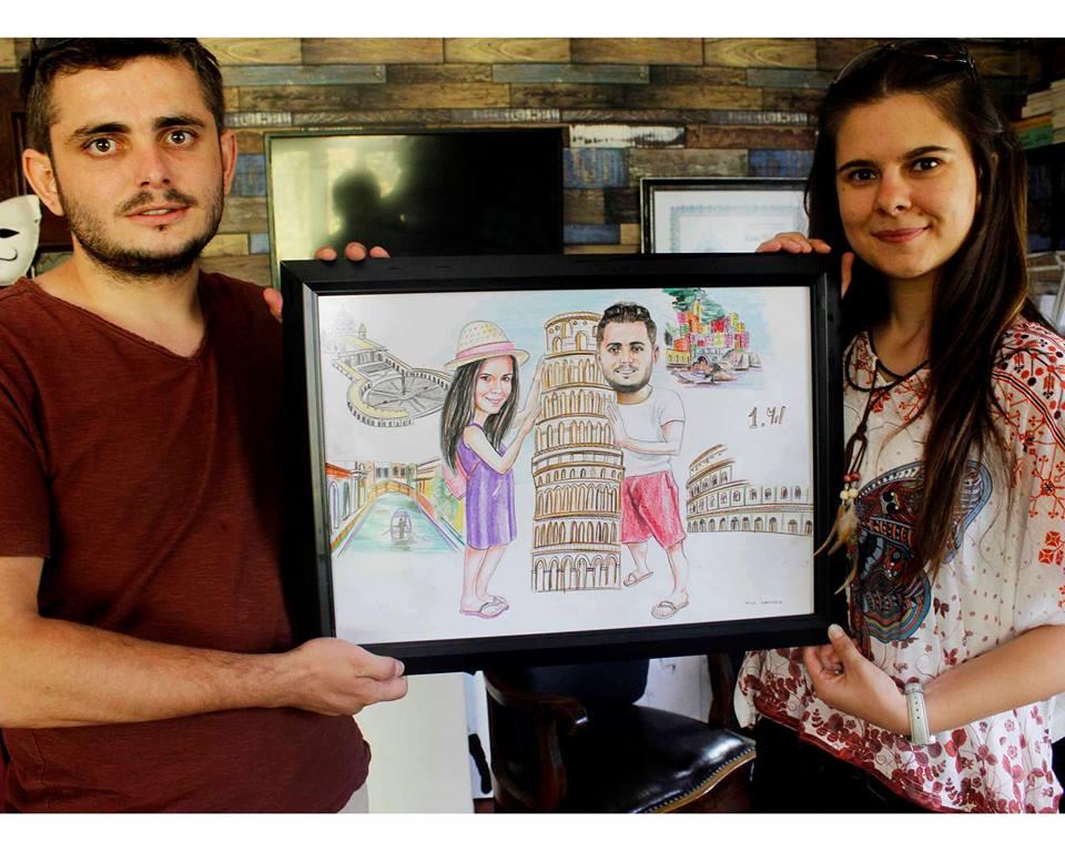 karikatür pastel yağlıboya portre sipariş fiyatlistesi istanbul ankara 14